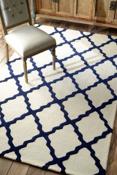 nuLOOM Handmade Flatweave Moroccan Trellis Cotton Rug 8 x 10