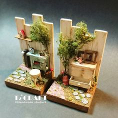 2017.08.21 Miniature dollhouse ♡ ♡ By T2 Craft