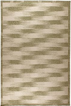 Swedish Rugs, Scandinavian Rugs:Geometric green Swedish Scandinavian rug from Doris Leslie Blau. Features hand knotted wool, geometric pattern #swedishrug #scandi #scandinavianrug #scandinavianinterior