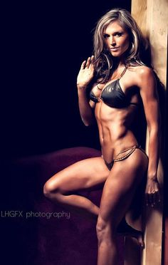 Personal trainer, fitness model, wife and mother Caitlyn J Bellamy