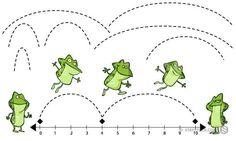 Leap Frog Number Line