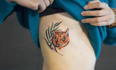 Delicate and Cute Ornamental Tattoos Art Colorfull by Zihee