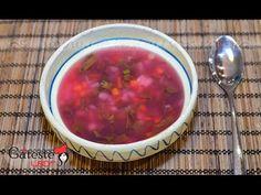 Reteta de Bors de Loboda Salsa, Dishes, Make It Yourself, Ethnic Recipes, Supe, Food, Youtube, Kitchens, Tablewares