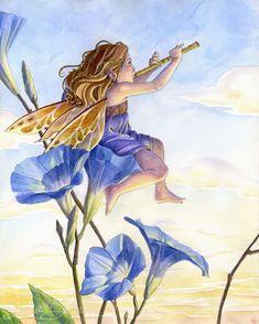 Blog of Sara (Butcher) Burrier :: Sara B Illustration: Morning Glory