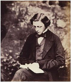 Charles Lutwidge Dodgson 27 January 1832 – 14 January better known by his pen name, Lewis Carroll author of Alice in Wonderland.picture taken 1856 Alice Liddell, Lewis Carroll, Cs Lewis, Adventures In Wonderland, Alice In Wonderland, Photos Rares, Photo Souvenir, How To Read People, Writers And Poets