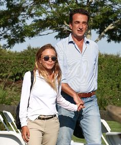 Mary-Kate and Olivier at Hampton Classic Horse Show