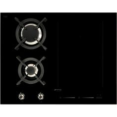 PM3621WLD_BK | Smeg mixed fuel 65cm hob | ao.com Ovens, Kitchen, Cooking, Stoves, Kitchens, Cuisine, Oven, Cucina
