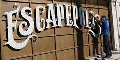 ESCAPEPOLIS   Escape Rooms in Athens   logo design on Behance