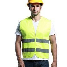 High Visibility Safety Reflective Hi Viz Vest Warning Coat Reflect Stripes Tops Jacket Car Motorcycle Reflective Safety Clothing