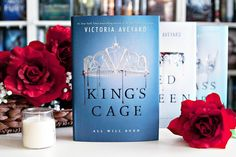 Happy Book Birthday to King's Cage by Victoria Aveyard!! --- My copy of King's Cage just arrived in my mailbox and now I have to find room for it on my shelf.  I still need to read Glass Sword but I'm hoping to reread Red Queen again first. I'm excited to them all!! --- It's rainy and gross here today so please overlook the grainy photo.  --- Have you read this series?? What do you think of it?? --- #bookstagrammer #bookstagram #bookstagramfeature #victoriaaveyard #redqueen #glasssword…