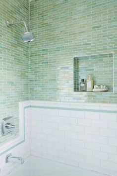 mint green tile inspo.