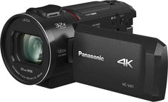 The Panasonic Full HD camcorder combines premium optical and sensor performance via a new LEICA DICOMAR optical zoom lens with a bright aperture range from wide - tele and a large BSI MOS Sensor for impressive capture even in low light. Camcorder, Zoom Online, Camera Prices, Secure Digital, Sony, Leica Camera, Camera Gear, Optical Image, Travel
