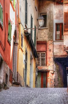 GREAT ALLEY - COMO LAKE - ITALY by elvetino and dide, via Flickr