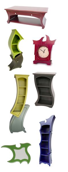 """Alice in Wonderland"" Furniture by Vincent Thomas Leman . T"