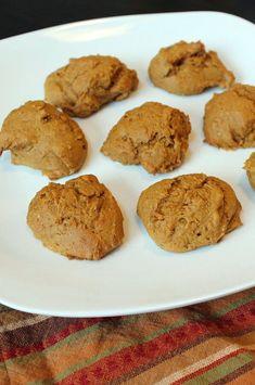"2-Ingredient Pumpkin Cookies | ""Delicious and simple 2-ingredient pumpkin cookies."" #cookies #cookierecipes #bakingrecipes #dessertrecipes #cookieideas"