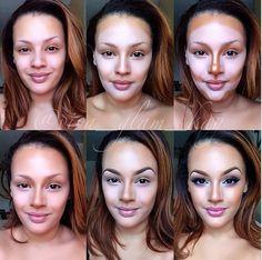 Modelowanie twarzy - metamorfoza