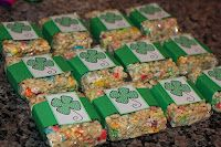 Lucky Charms Treats  for the kids on st. pat's day!