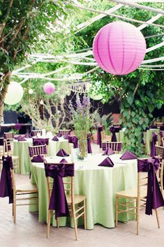 Rehearsal dinner idea-decorating your rehearsal dinner space is a ...