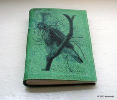 SALE watchful hawk blank journal
