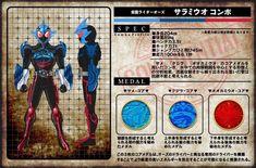 Kamen Rider OOO New Combo Forms | Kamen Rider Amino Amino