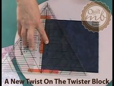 A New Twist on the Twister Block | Quilt with Marci Baker | Quilt Patterns | Learn to Quilt | Quilt Videos