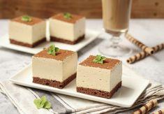 Parfait cremos de cafea Food Cakes, Parfait, Feta, Biscuit, Cake Recipes, Panna Cotta, Dairy, Pudding, Cheese