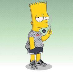 Bart représente suprême & yeezy