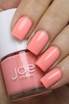 Joe Fresh - 'Melon' nails x