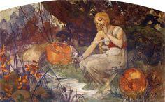 Prophetess - Alphonse Mucha (1896)