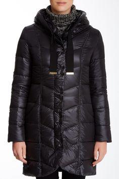 $110 Tahari Gisele Down Hoodie Coat by Tahari on @nordstrom_rack Gisele, Nordstrom Rack, Fall Winter, Winter Jackets, Hoodies, Coat, Fashion, Winter Coats, Moda
