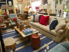 #blueandwhite #sofa #LA #mecox #interiordesign #mecoxgardens #furniture #shopping #design #decor #home #designidea #room #vintage #antiques #garden