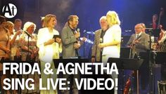 ABBA REUNION 2016! Agnetha & Frida sing The Way Old Friends Do LIVE at B...