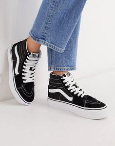Vans SK8-Hi Platform 2.0 sneaker in black