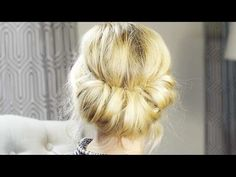 How To - Vintage Rolled Hair Tutorial| Milabu - YouTube