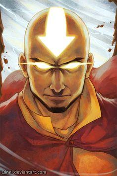 Avatar the Last Airbender/ Legend of Korra: Avatar Aang by =Qinni on deviantART