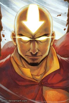 Avatar Aang by *Qinni on deviantART