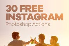 Please welcome this 30 Free Instagram Photoshop Actions! Now, changing colors, brightness and contrast of photos can't be easier