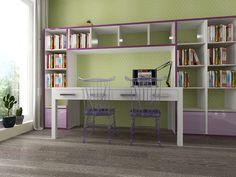 Návrh detskej izby CU-Interiors - Ideas of children room Corner Desk, Kids Room, Interiors, Architecture, Children, Furniture, Ideas, Design, Home Decor