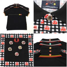 91c500a5128 Fred Perry x Pac Man x Ten do Ten polo shirts now at Mainline Menswear   fredperry