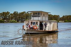 Mannum, South Australia 20161119 2 #murrayriver #murray #river Murray River, Paddle Boat, Steamers, South Australia, Ps, Boats, Places, Ships, Boating