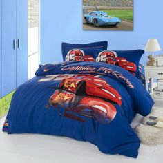 Cool Disney Cars Blue Disney Bedding Disney Cars, Disney Fun, Disney Bedding, Bedding Sets, Comforters, Blanket, Blue, Creature Comforts, Quilts