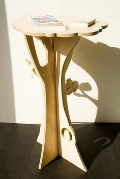 Squirrel Flatpack Tall Table
