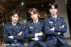 The Boyz Triple Visual Bermuda Triangle Joo Haknyeon, Bermuda Triangle, Brown Eyed Girls, Flower Boys, Hot Boys, Handsome Boys, Pop Group, How To Look Better, Korea