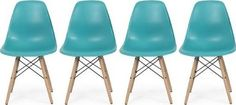 plastic colored dining chairs