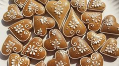 Xmas Cookies, Valentine Cookies, Christmas Cupcakes, Easter Cookies, Cupcake Cookies, Christmas Food Gifts, Christmas Goodies, Christmas Baking, Gingerbread Decorations