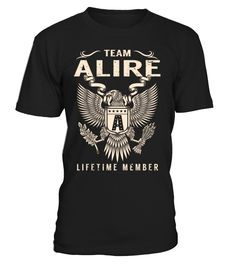 Team ALIRE Lifetime Member Last Name T-Shirt #TeamAlire