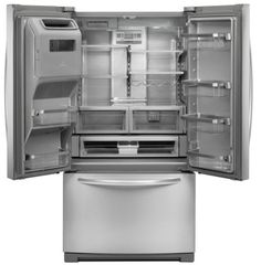 The obsidian built in refrigerator by jenn air features for Obsidian interior refrigerator