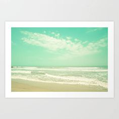 Extra Large Wall Art Beach Print