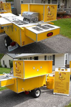 Project hot dog cart