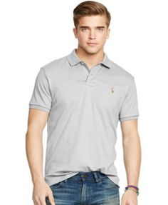 POLO RALPH LAUREN Polo Ralph Lauren Pima Soft-Touch Shirt. #poloralphlauren  #cloth #men